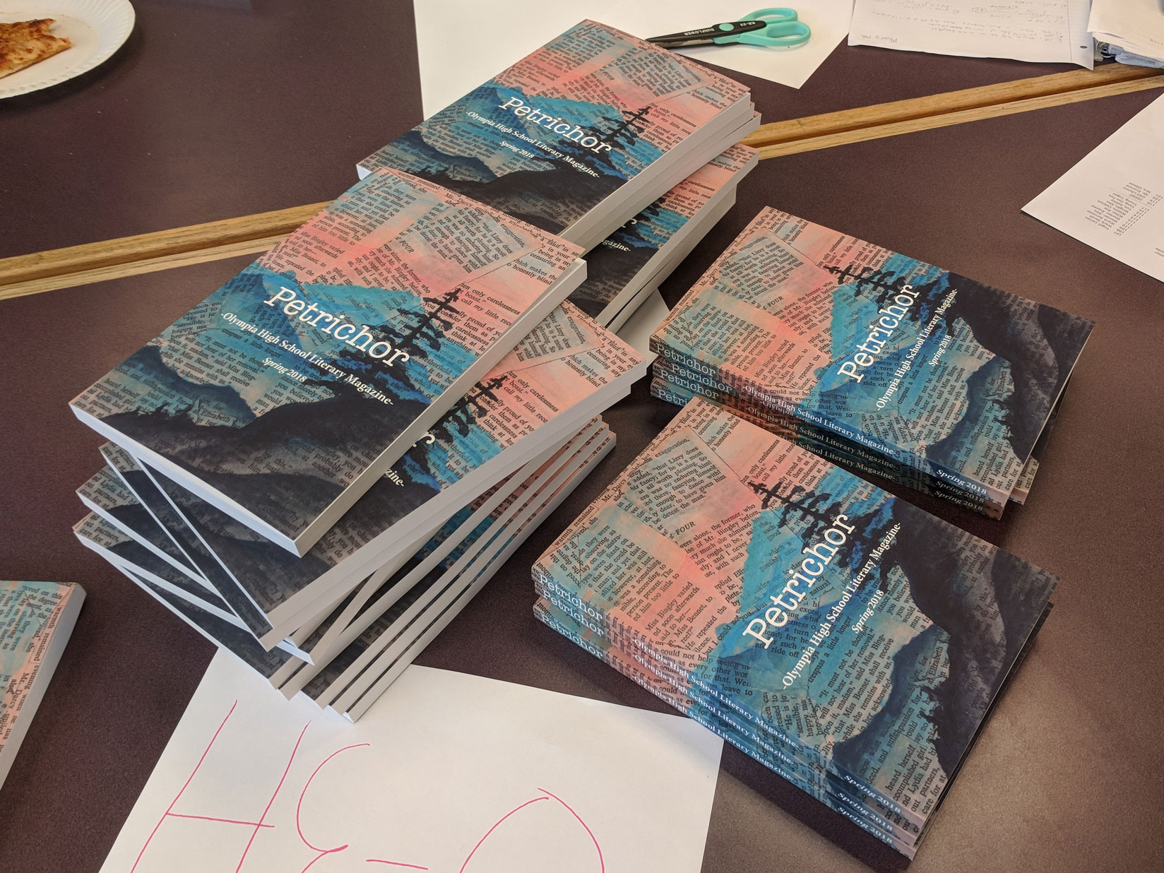 Read more about the article OHS Unveils 2018 Literary Magazine: Petrichor