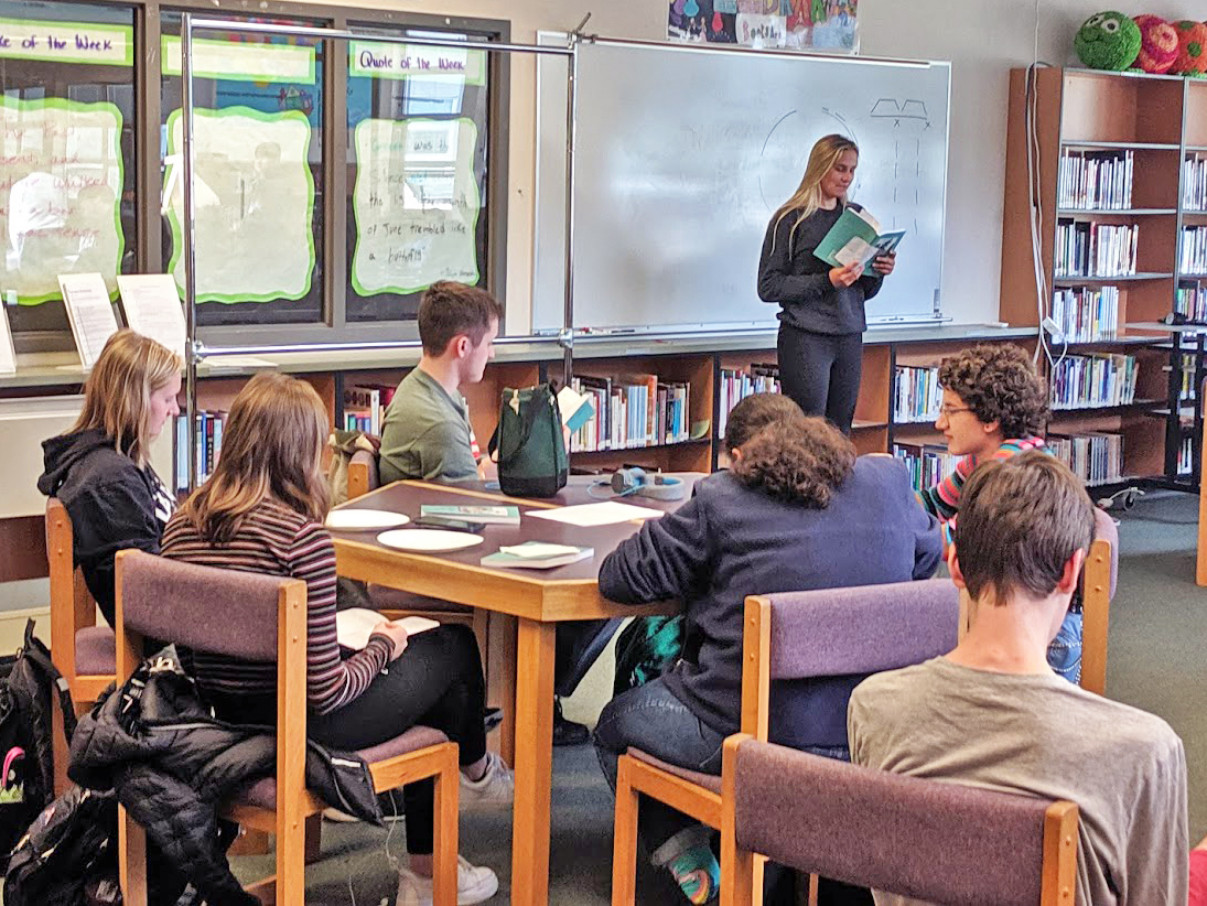 Read more about the article Olympia High School Students Showcase Their Talent in 2019 Literary Journal