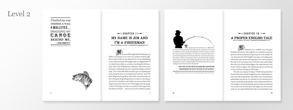 Text Design Portfolio